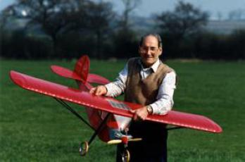 Cliff Dennison and his Velie Monocoupe